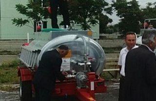 Kulu'da Su Tankerleri Dağıtımı Devam Ediliyor