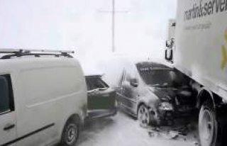 'Kutup' soğuğu Avrupa'yı esir aldı