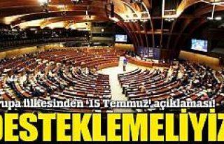 Litvanya: Türkiye'nin daha kararlı biçimde desteklenmesini...