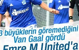 Louis van Gaal, Emre Mor'u istiyor