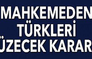 Mahkemeden Avrupa'da yaşayan Türkleri üzecek...