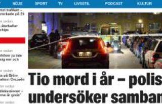 Malmö'de aynı yöntemle 1 yılda 10 kişi öldürüldü