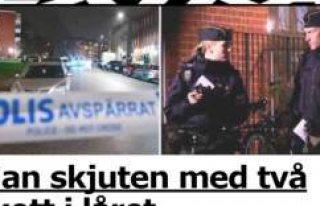 Malmö'de bir genç vuruldu