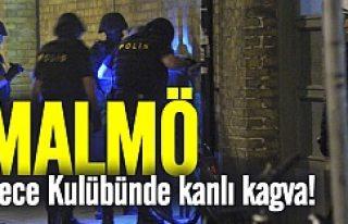 Malmö'de gece kulübünde çıkan kavga kanlı...