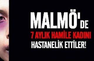 Malmö'de hamile kadına çirkin saldırı!