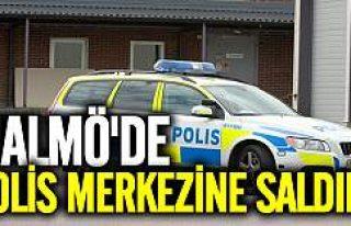 Malmö'de polis merkezine saldırı