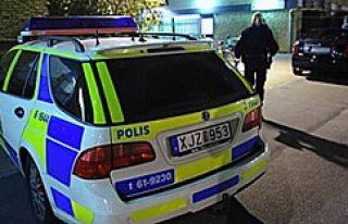 Malmö'de vurulduğu silahla hastaneye girdi