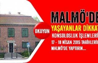 Malmö'de yaşayan vatandaşlarımıza Büyükelçilik'ten...