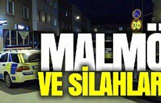 Malmö'de yine silah sesleri!