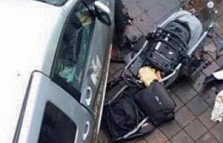 Malmö'de arabasıyla polisten kaçarken anne ve 2...