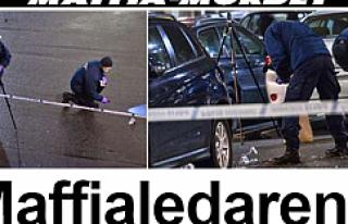Malmö'de mafya lideri öldürüldü...VİDEO