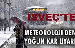 Metrolojiden kar, tipi uyarısı!