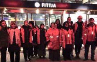 Milletvekili Fittja'da Türk Annelerle Güvenlik...