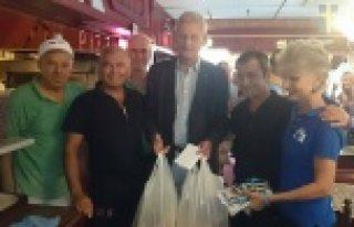 Milletvekilli adayları ile Carl Bildt'in rekabeti...