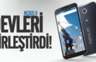 Motorola Google evliliğinden Nexus 6 doğdu!