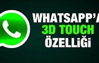 Müjde! WhatsApp'a 3D Touch özelliği geldi