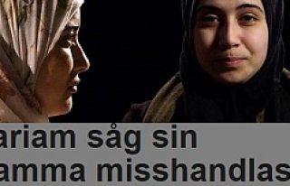 Müslüman olduğu için annesinin dayak yediğini...