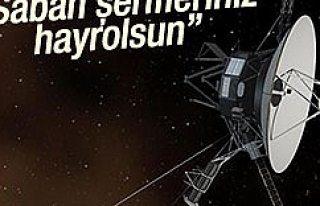 Nasa'dab Uzaylılara Türkçe Mesaj