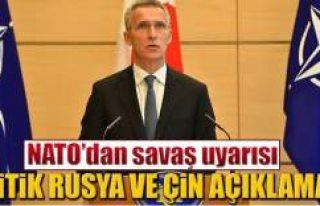 NATO'dan kritik Rusya ve Çin açıklaması
