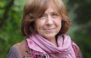 Nobel Edebiyat Ödülü Svetlana Alexievich'in