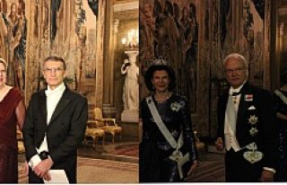 Nobel Ödüllü Sancar, İsveç Kralı'nın Verdiği...