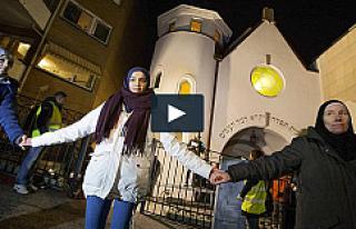 Danimarka saldırısına Müslümanlar, Norveç'te...
