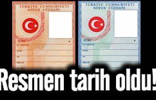 Nüfus cüzdanları kimlik kartı oluyor