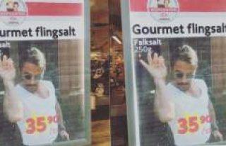 Nusret'in tuzu İsveç'te fenomen oldu