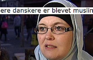Paris saldırısı ters tepti, Danimarkalılar akın...