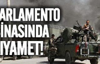 Parlamento binasına bombalı saldırı!
