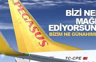 Pegasus İsveç'ten Ankara'ya 24 saatte...