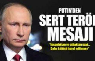 Putin'den Reina'daki saldırı hakkında...