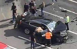 Putin üzgün, makam otomobili parçalandı, en sevdiği...