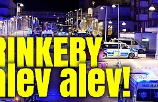 Rinkeby'de feci yangın