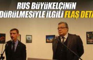 Rus Büyükelçisi'nin öldürülmesi ile ilgili...