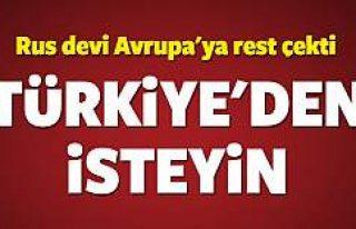 Rus devinden rest! Türkiye'den isteyin