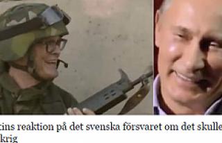 Rus lider Putin, İsveç askeriyle dalga geçti...VİDEO
