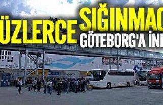 Sabahın ilk ışıklarıyla Göteborg'a yeni...