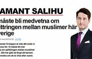 Salihu'dan İsveç'teki müslümanlar ile...