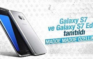 Samsung Galaxy S7 ve Galaxy S7 Edge tanıtıldı