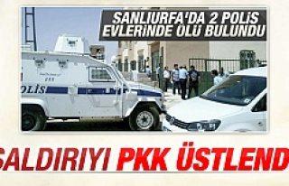 Şanlıurfa'da 2 polis şehit oldu