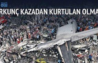 Şehir merkezine uçak düştü: 116 ölü