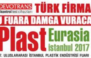 Sektörün lideri DVT DEVOTRANS, Plast Eurasia 2017...