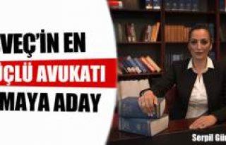 Serpil Güngör İsveç'in en güçlü avukatı...