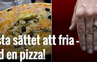 Sevgililer gününde en güzel hediye: İsveç'te,...