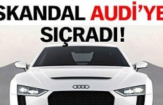 Skandal Audi'ye sıçradı!