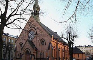 Södermalm'da ki tarihi kilise satlığa çıkarıldı...FOTO