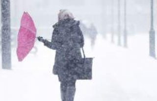 Soğuk hava ve kar İsveç'e dönüyor...