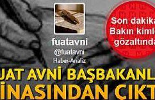 Son dakika... Fuat Avni yakalandı iddiası