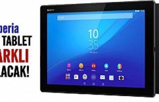 Sony Experia Z4 tablet geliyor